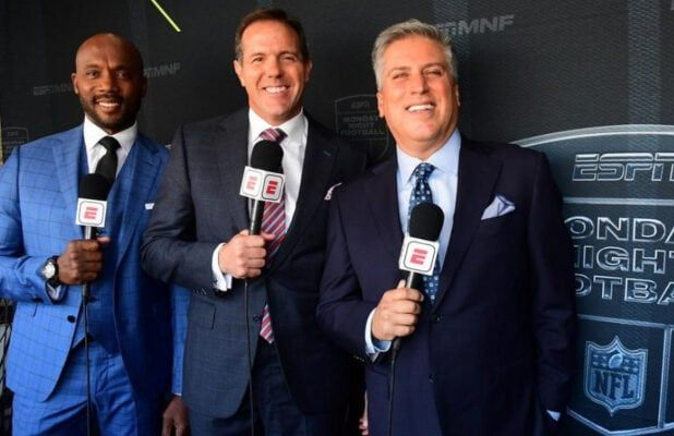 Photo of Steve Levy, Brian Griese and Louis Riddick