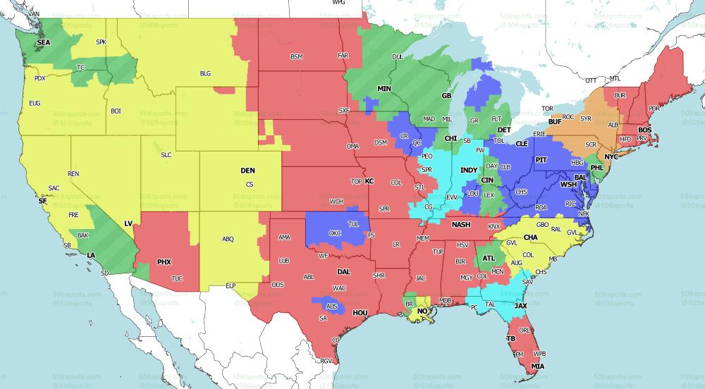 NFL on CBS Week 1 Singleheader