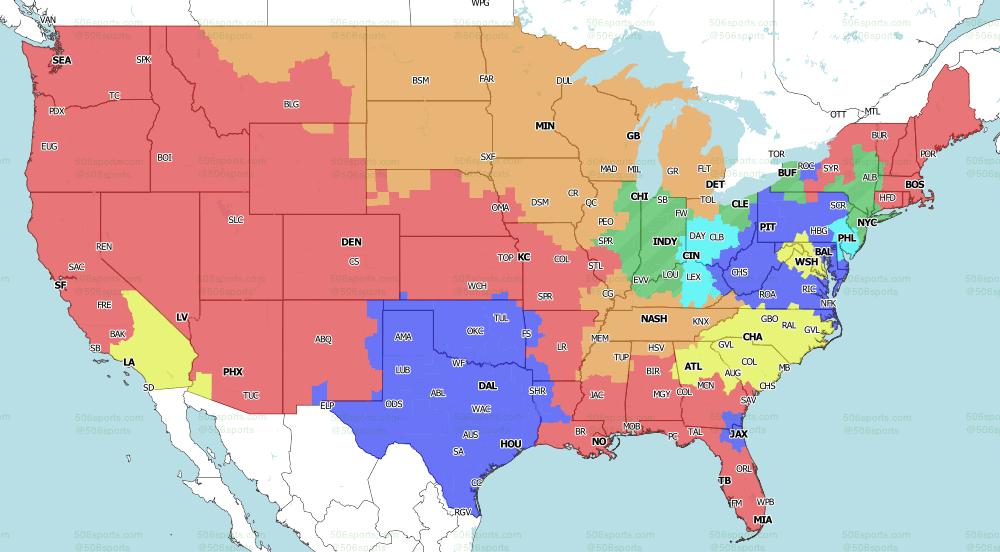NFL on CBS Week 3 Singleheader games 2020