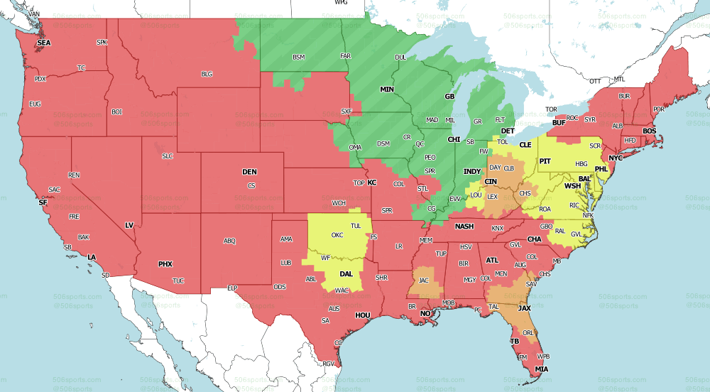 NFL on CBS Early Games Week 4 2020 NFL Season