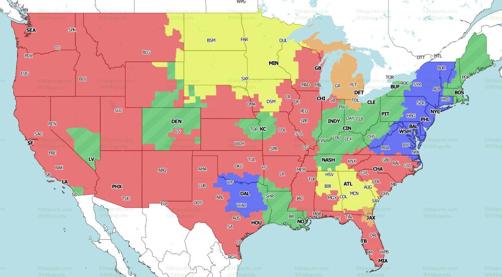 NFL on Fox Early Games week 6 2020 506 Sports