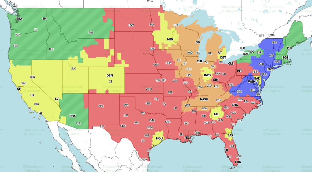 NFL on Fox Week 9 Single Games