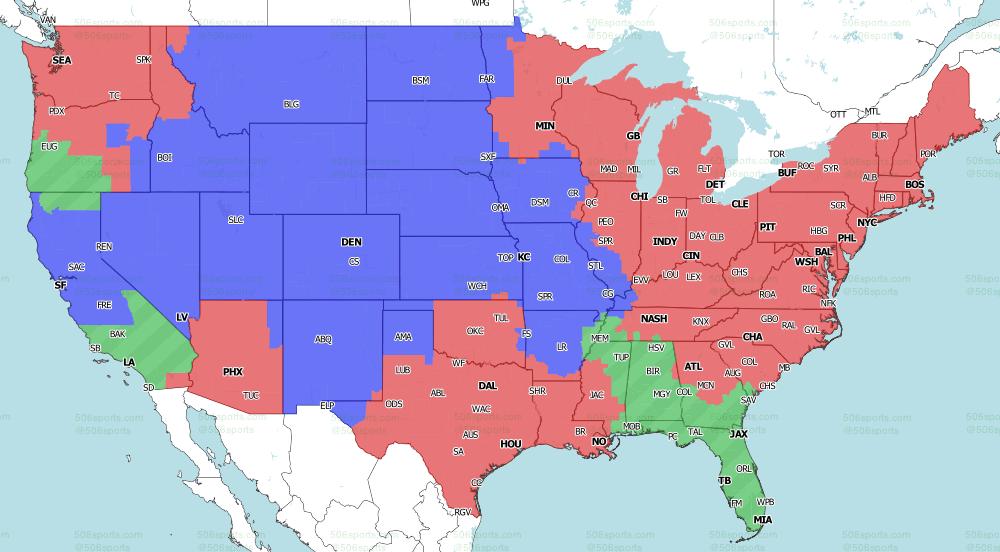 NFL on CBS Week 10 Single games