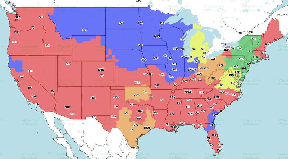 NFL on Fox Week 10 Early games