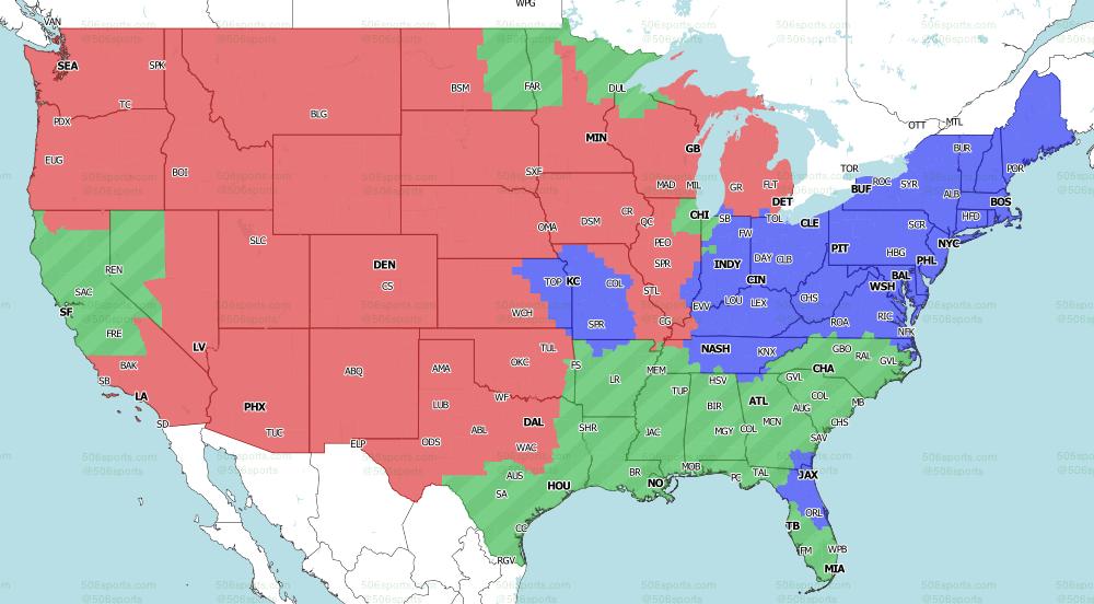 NFL on CBS Week 10 Late games