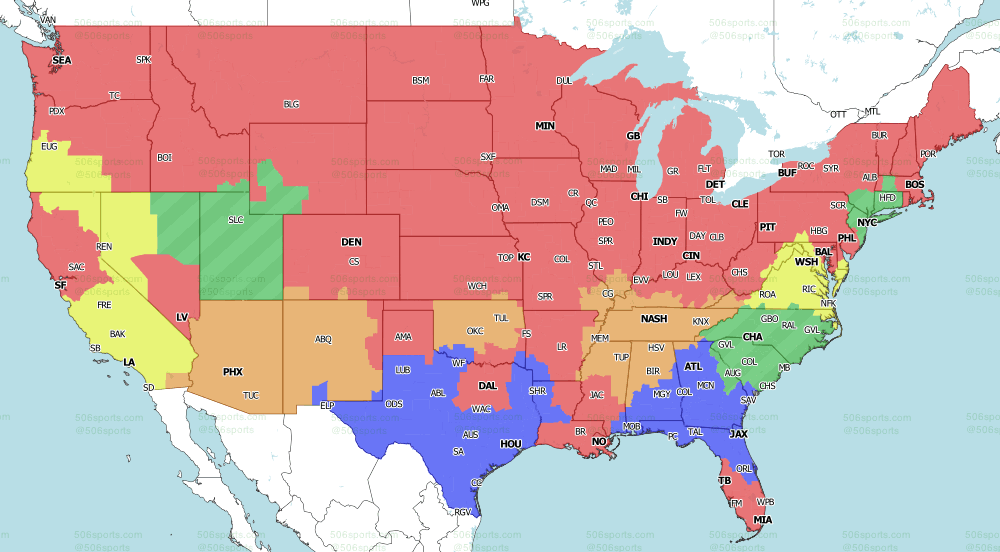 2021 NFL on CBS Early Games